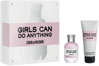 Zadig & Voltaire Girls can do Anything Set = E.d.P. Nat. Spray + Body Lotion
