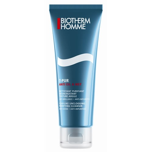 Biotherm Homme T-Pur Nettoyant 125 ml