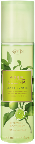 4711 Acqua Colonia Lime & Nutmeg Refreshing Body Spray