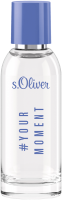 S.Oliver Yourmoment Men E.d.T. Nat. Spray