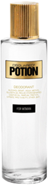 Dsquared2 Perfumes Potion For Woman Deodorant Nat. Spray