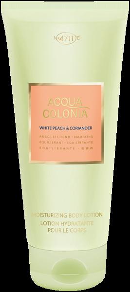 4711 Acqua Colonia White Peach & Coriander Moisturizing Body Lotion