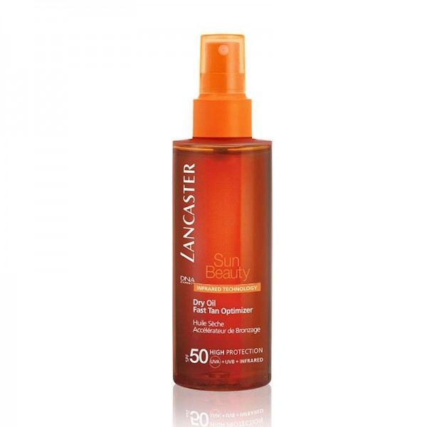 Lancaster Sun Beauty Dry Oil Fast Tan Opitimizer SPF 50 150 ml