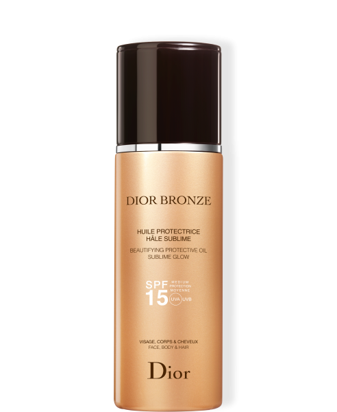 BEAUTIFYING PROTECTIVE OIL SPF 15 DIOR BRONZE