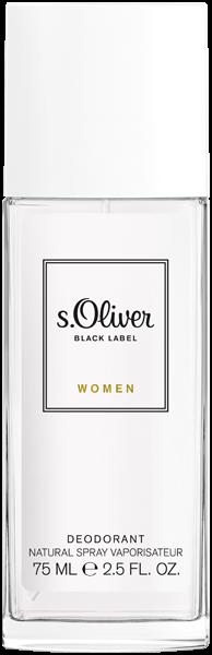 S.Oliver Black Label Women Deodorant Nat. Spray
