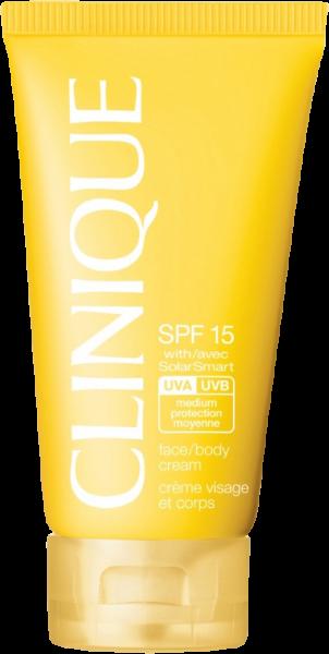 Clinique Sonnenpflege Face & Body Cream SPF 15
