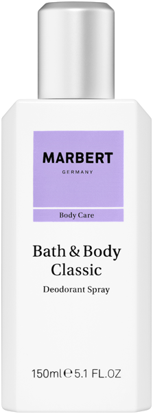 Marbert Bath & Body Classic Natural Deodorant Spray