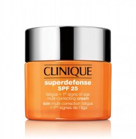 Clinique Superdefense Cream SPF 25 skin type 1/2