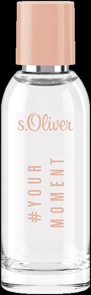 S.Oliver Yourmoment Women E.d.T. Nat. Spray