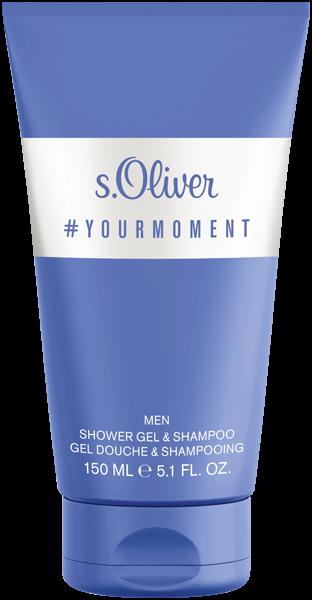 S.Oliver Yourmoment Men Shower Gel & Shampoo