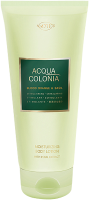 4711 Acqua Colonia Blood Orange & Basil  Moisturizing Body Lotion with Pearl Extract
