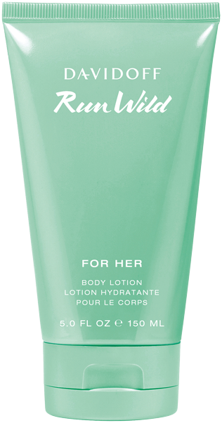 Davidoff Run Wild For Her Body Lotion