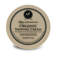 Taylor of Old Bond Street Organic Shaving Cream 150 g