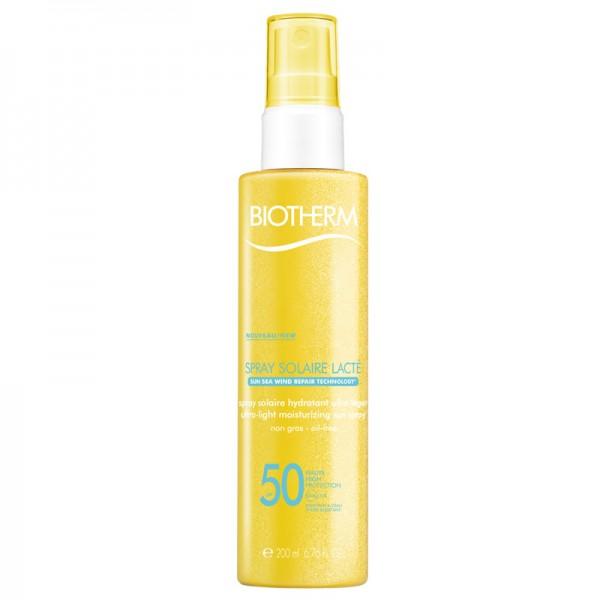 Biotherm Sun Spray Solaire Lacte SPF 50 Sonnenschutzspray 200 ml