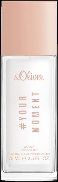 S.Oliver Yourmoment Women Deodorant Nat. Spray