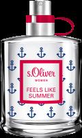 S.Oliver Feels Like Summer Women E.d.T. Nat. Spray
