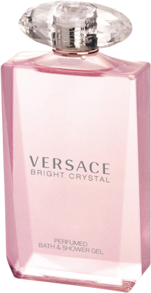 Versace Bright Crystal Perfumed Bath & Shower Gel
