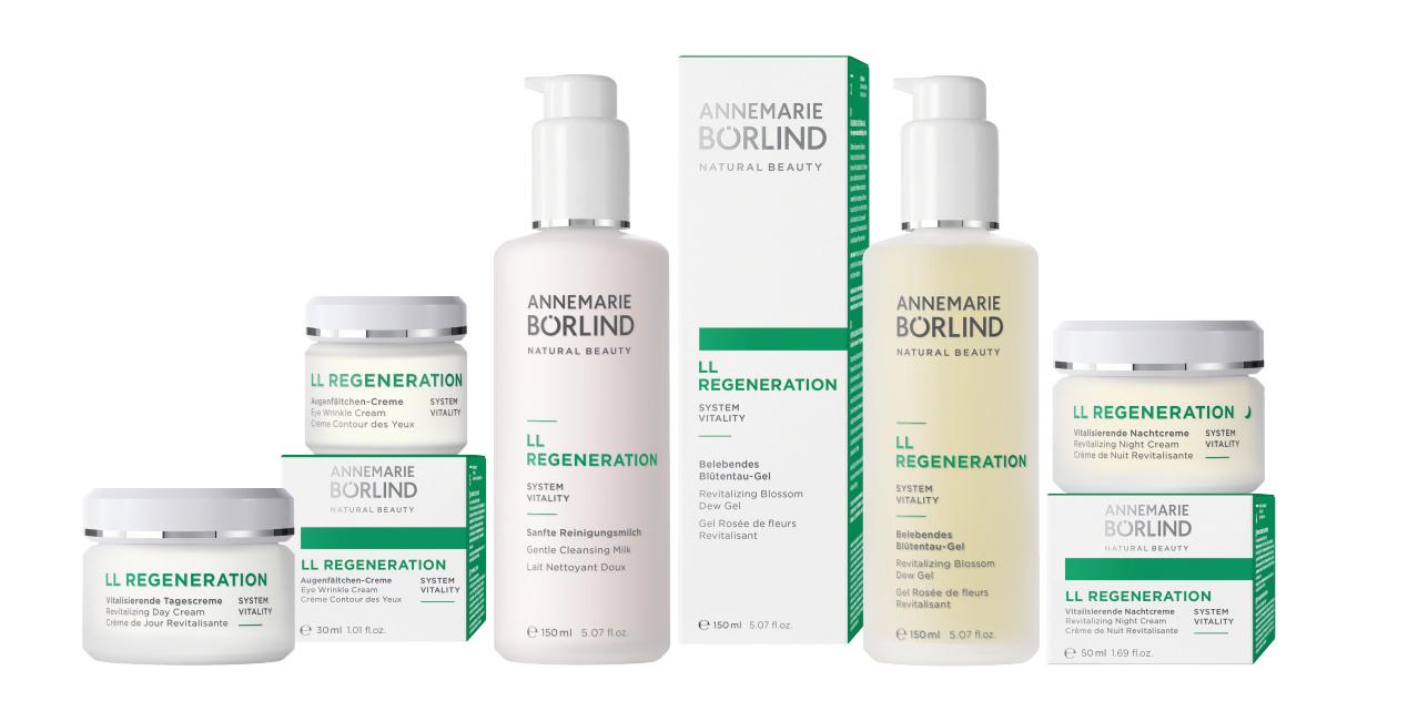 Annemarie Börlind LL REGENERATION – SYSTEM VITALITY Bei regenerationsbedürftiger Haut