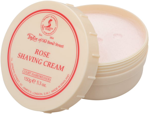 Taylor of Old Bond Street Rose Shaving Cream