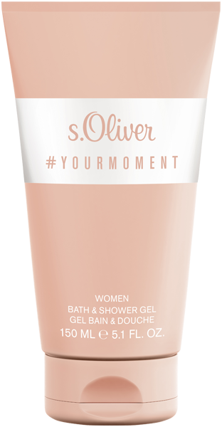 S.Oliver Yourmoment Women Bath & Shower Gel