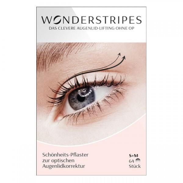 Wonderstripes Schönheits-Pflaster S (klein) & M (mittel) 64 Stk.