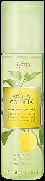 4711 Acqua Colonia Lemon & Ginger Refreshing Body Spray