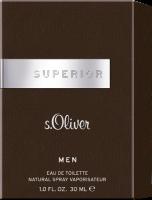 S.Oliver Selection Superior Men E.d.T. Nat. Spray