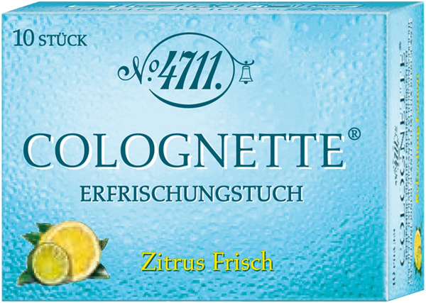 4711 Echt Kölnisch Wasser Erfrischungstücher Citrus