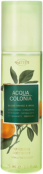 4711 Acqua Colonia Blood Orange & Basil Refreshing Body Spray