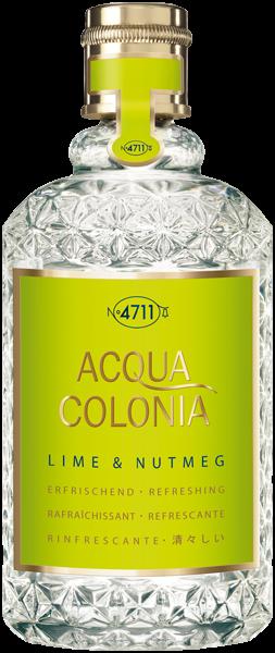 4711 Acqua Colonia Lime & Nutmeg E.d.C. Nat. Splash & Spray