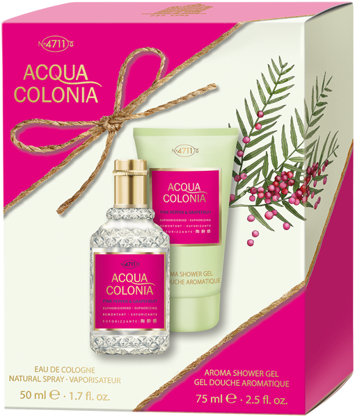 4711 Acqua Colonia Pink Pepper & Grapefruit Set
