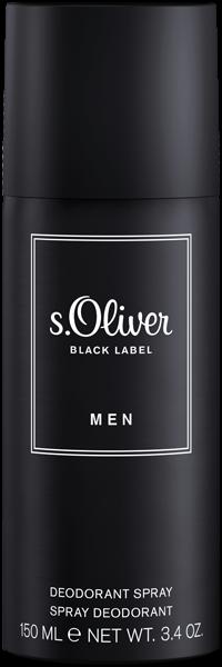 S.Oliver Black Label Men Deodorant Spray