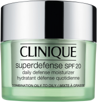 Clinique Superdefense SPF 20 Daily Defense Moisturizer Hauttyp 3+4
