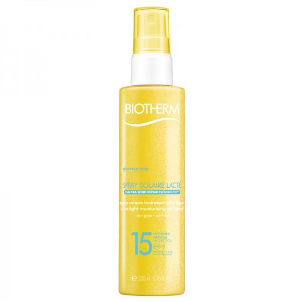 Biotherm Sun Spray Solaire Lacte SPF 15 Sonnenschutzspray 200 ml