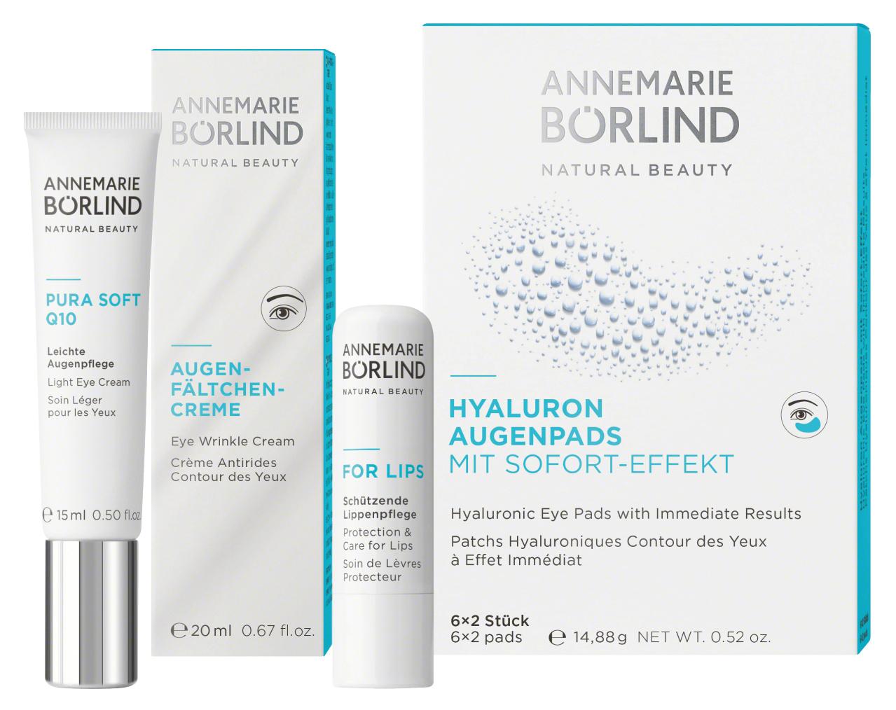Annemarie Börlind AUGEN UND LIPPENPFLEGE - Entwickelt für Ihr individuelles Hautbild