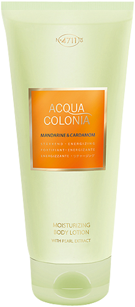 4711 Acqua Colonia Mandarine & Cardamom Moisturizing Body Lotion with Pearl Extract