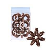 invisibobble Haargummis 3 Stk. Nano - Pretzel Brown