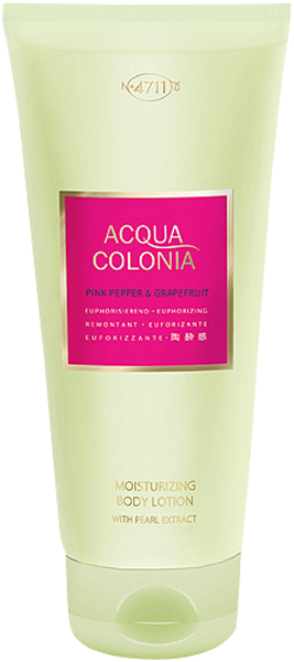 4711 Acqua Colonia Pink Pepper & Grapefruit Moisturizing Body Lotion with Pearl Extract