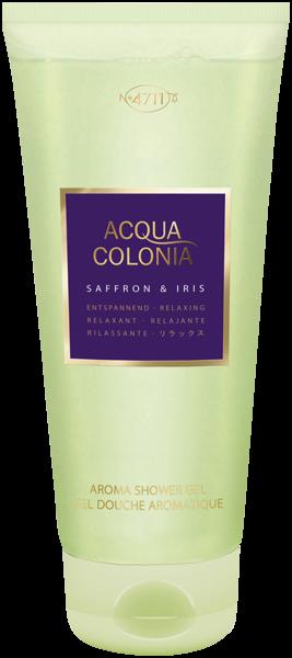 4711 Acqua Colonia Saffron & Iris Shower Gel