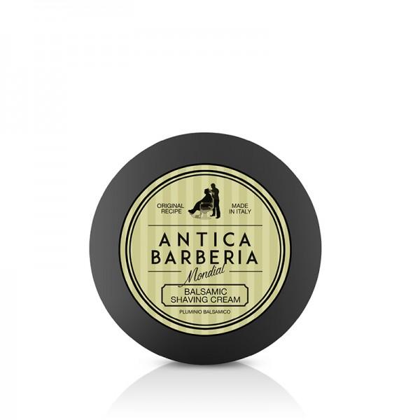 Antica Barberia von Mondial Shaving Cream Menthol Kunststoffbox 125 ml